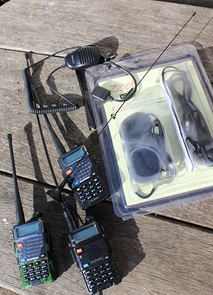 ZOOT HEADSETS AND RADIOS